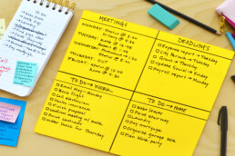 Post-it Big TO DO notes