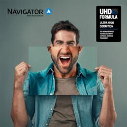 UHD formula Navigator papira