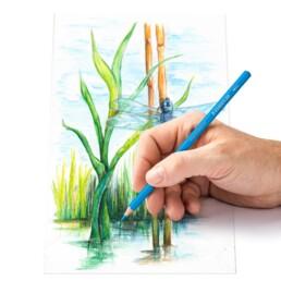 Crtanje Design Journey Staedtler bojicama