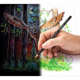 Crtanje Staedtler Design Journey bojicama 149C