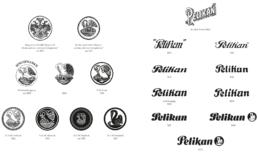 Pelikan razvoj logotipa