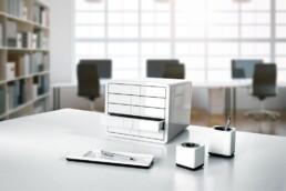 bijela i-Line serija uredski materijal